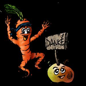 Karottenfreude